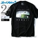 【大きいサイズ】【メンズ】LOCAL MOTION(ローカルモーション) プリント半袖Tシャツ(HAWAII)【USA直輸入】smt-5122