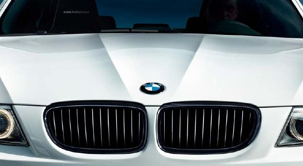 BMW Performance パーツ BMW E90/E91Lci 後期用 ブラック・ グリルセット BMW パフォーマンスパーツ