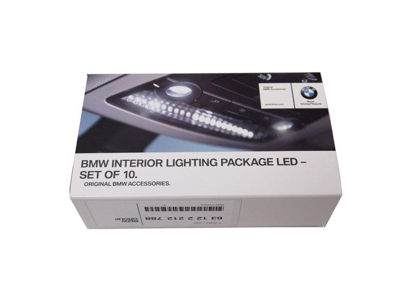 BMW アクセサリー BMW インテリア・ライト・パッケージ LED 10個セット