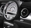 "BMW MINI アクセサリー MINI R56(ハッチバック)/R55(CLUBMAN)用 クローム調トリム""スピード メーター用"""