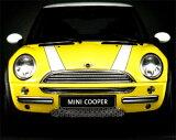 BMW MINI アクセサリー MINI R50.(ハッチバック)/R52(カブリオレ) COOPER/ONE エンジンフード・ストライプ・セット ホワイト&ブラック