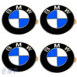 【BMW純正】BMW エンブレム BMW ホィールキャップバッジ 58mm 4枚セット