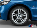 BMW 純正アルミホイール BMW F45/F46 2シリーズ アクティブツアラー/グランツアラー M ライト・アロイ・ホイール・ダブルスポーク・スタイリング483M 単体 7.5J×17(フロント/リヤ共通)