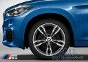 【BMW純正】BMW 純正アルミホイール BMW F48 X1 M ライト・アロイ・ホイール・ダブルスポーク・スタイリング 572M 単体 1本 8J×19(フロント/リヤ共通)
