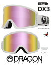 DRAGON ASIAN-FIT 2020 ¥É¥é¥´¥ó ¥´¡¼¥°¥ë GOGGLE DX3 WHITE PINK LUMALENS