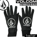 16-17 VOLCOM / ボルコム Warm Inner Glove インナーグローブ 手袋 メンズ レディース ユニセックス スノーボード