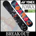 15-16 YONEX / ヨネックス FOAROC フォアロック メンズ レディース スノーボード 板 2016