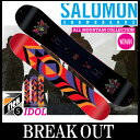 ショッピングSALOMON 15-16 SALOMON / サロモン IDOL / アイドル オールマウンテン レディース スノーボード 板 2016 型落ち