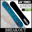 15-16 YONEX / ヨネックス LUVARTH ラバース メンズ スノーボード 板 2016