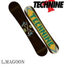 【送料無料】【あす楽対応】15-16 TECHNINE / テックナイン LM PRO MAGOON オールマウンテン メンズ スノーボード 板 2016 型落ち align=