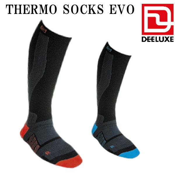 あす楽対応 スノーボード ソックス 靴下 デーラックス DEELUXE THERMO SOCKS EVO