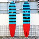 GUY TAKAYAMA / ガイタカヤマ Ali'i GT-7 9'5 STRIPE/RED ロングボード サーフボード スタビライザー、センターフィン付き