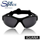 あす楽対応 SEA SPECS IGUANA / シースペック ウォータースポーツ用 サングラス ブラック 黒 メンズ レディース UVカット 偏光レンズ