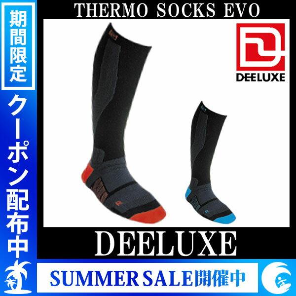 DEELUXE / デーラックス THERMO SOCKS EVO ソックス メンズ レディース メール便 290円
