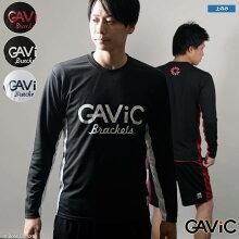 ガビック/gavicカレイド柄ロングプラシャツ