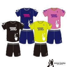【受注生産3〜4週間】サッカージャンキー/soccerjunkyPANDIANIゲームシャツ上下セット