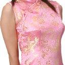 【20%OFF開催中】チャイナドレス コスプレ ロング ショート パーティ S〜9Lサイズまで 11サイズもあり 半袖 c04 衣装