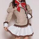 赤リボン学園制服 costume268 ゴスロリ♪ロリータ♪パンク♪コスプレ♪コスチューム♪メイド