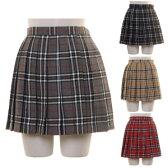 スクールスカート チェック柄 コスプレ セーラー服 制服 女子高生 ブレザー ハロウィン S〜4Lサイズあり 4色展開 costume433
