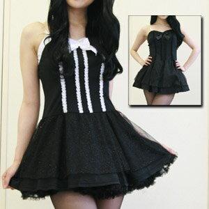 ハロウィン コスプレ アフター5ドレス コスプレ 衣装 制服 チアリーダー 大人用 M〜2Lサイズあり 2色展開 costume584 衣装