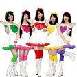 店内50%OFF〜開催中♪ モモクロZ風 コスプレ コスチューム S〜4Lサイズあり 4点セット 全6色展開 costume596 ハロウィン 衣装