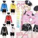 ポリス 5点セット M〜2Lサイズあり 全6色展開 costume779 ハロウィン 衣装