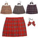 スクールスカート コスプレ セーラー服 制服 女子高生 ブレザー 6L〜8Lサイズあり 4色展開 2点セット costume807
