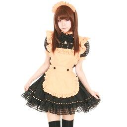 メイドコスチューム コスプレ メイド 衣装 アリス 大人用 ロリータ M〜2Lサイズあり 4点セット costume859
