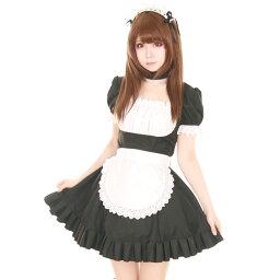 メイドコスチューム コスプレ メイド 衣装 アリス 大人用 ロリータ M〜2Lサイズあり 3点セット costume860