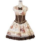 モーツァルトジャンパースカート L589 ゴスロリ♪ロリータ♪パンク♪コスプレ♪コスチューム♪メイド ハロウィン 衣装