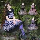 コスプレ 英文字が逆です ゴスロリ ロリータ ジャンパースカート ゴシック メイド 衣装 コスチューム 衣装 アニメ 通販 衣装 あす楽