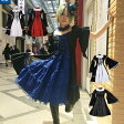 2点セット パンク 文化祭 学園祭 コスプレ ゴシック ハロウィン M〜5Lサイズあり 5色展開 p023