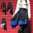 2点セット ハロウィン パンク イザヤダイアゴナルコンビネーションスカート コスプレ 発表会 M〜4Lサイズあり 4色展開 p236