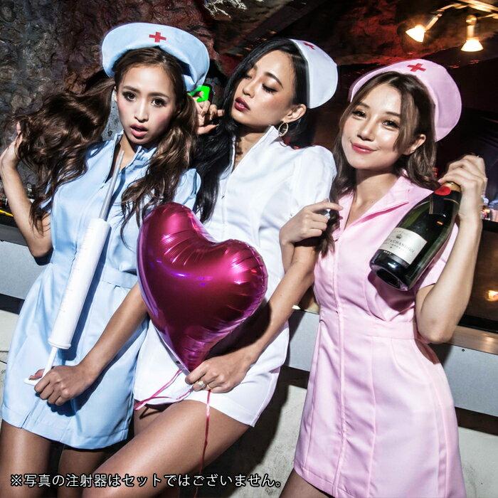 女医ナース2点セットM〜2Lサイズあり全9色展開costume739ハロウィン衣装