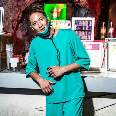 医者コスプレメンズハロウィン衣装男性用ナースM〜Lサイズあり7点セットcostume899ハロウィン衣装