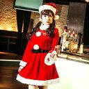 イノセントサンタ コスプレ クリスマス セクシー衣装 3点セ...