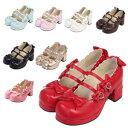 ハートヒールパンプス ブーツ パンプス 靴 シューズ コスプレ ハロウィン 22.5〜27.0サイズあり 8色展開 s526 ハロウィン 衣装