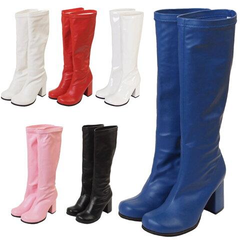 キャラクターブーツロング ブーツ パンプス 靴 シューズ コスプレ 22.5〜25.0サイズあり 6色展開 s528 衣装