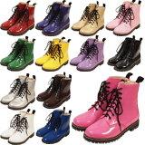 店内50%OFF〜開催中♪ エナメルカラーワークブーツ ブーツ パンプス 靴 シューズ コスプレ 22.5〜27.0サイズあり 13色展開 shoes257