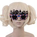 サングラス 眼鏡 コスプレ 仮装 余興 学園祭 sun283 ハロウィン 衣装