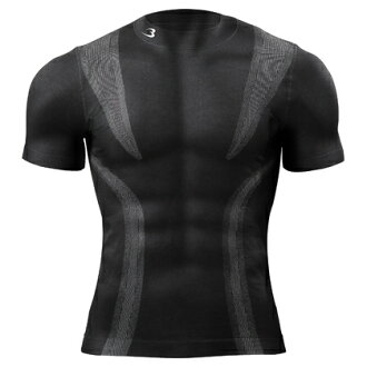 BM-FIX4 ( mens ) shirt tops fit quick-drying vent FIX under inner training sportswear working were functional wear