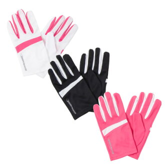 The running gloves running gloves jogging sunburn measures sporty fashion that is pretty in the touch panel operation running land with I run a marathon, and attaching it