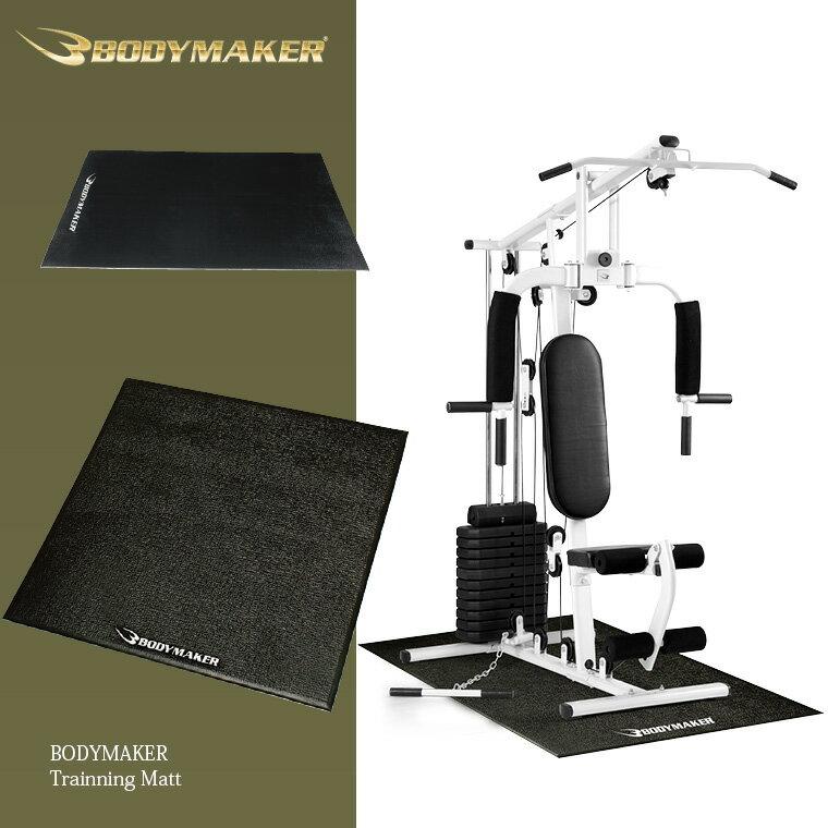 トレーニングマット(PVC)1m×1m【BODYMAKER ボディメーカー】筋トレ 腹筋 …...:bodymaker:10003792