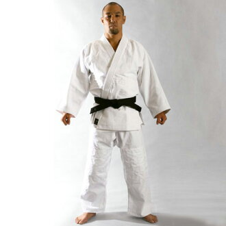 Judo wear cloth Judo Judo wear set practice Dojo practice ringtone of school physical education class school specified Club white junior high school students school Chengdu Division coat pants white band with