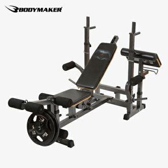專業板凳蝙蝠俠 VS 超人肌肉訓練安全凳板凳健身房訓練設備緊湊啞鈴杠鈴訓練蝙蝠俠超人