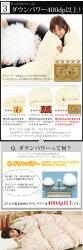 【日本製】・シングル・羽毛布団・ロイヤルゴールド・高品質ハンガリー産