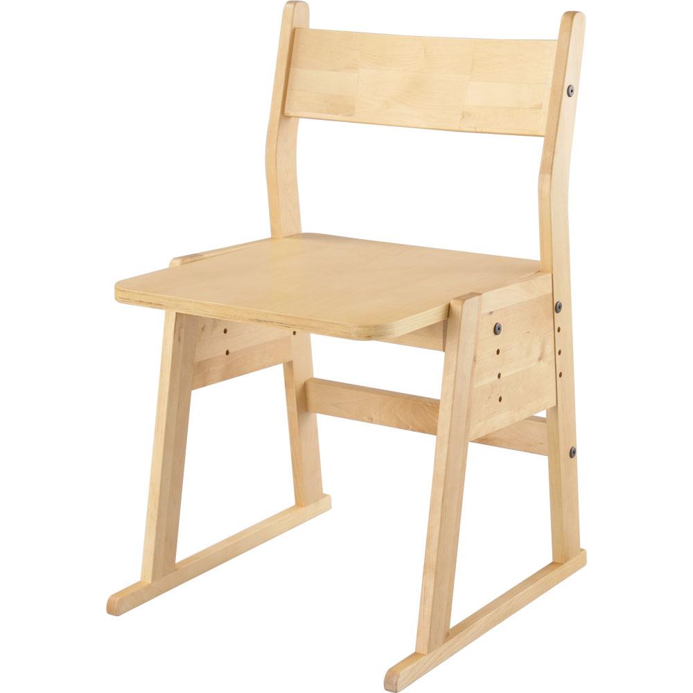 パーソナルチェア 木製 インテリア家具 学習チェアー 子供部屋 子供用イス 椅子 高さ調節…...:bon-like:10006344