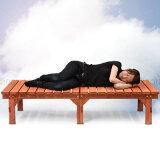 セール人気椅子いすガーデン用品ガーデンファニチャーバルコニーベランダアウトドア用品天然木製家具杉ウッドデッキ庭先テラスベンチ腰掛け アウトレット ブラウン おしゃれ L ikea