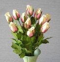 花束・つぼみローズ・ホワイトピンク HAT0030-120801【造花】【人工観葉植物】【フラワー】【光触媒】【インテリア】【RCP】