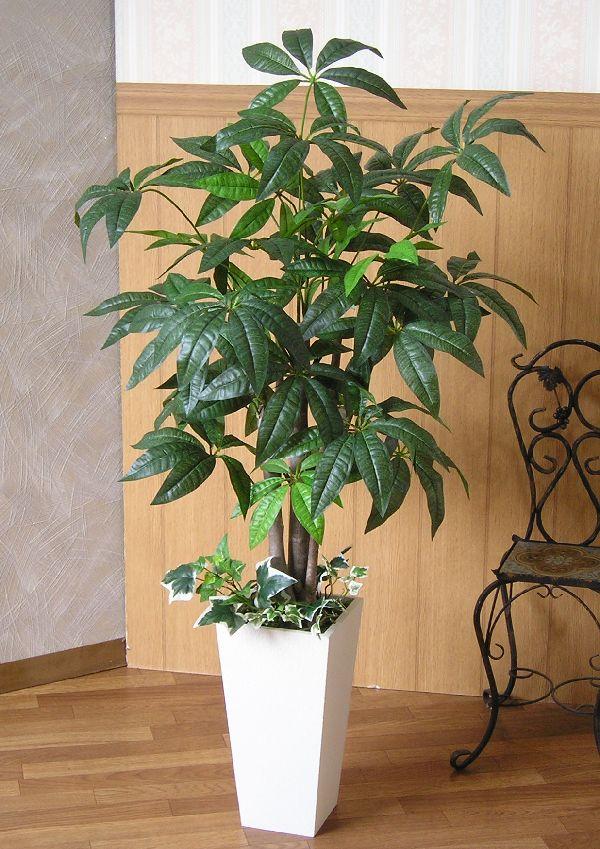 パキラ100cm 【送料無料】【smtb-s】【造花】【人工観葉植物】【光触媒】【P06May16】